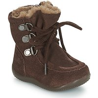 Kickers  BAMARA  boys's Children's High Boots in Brown