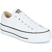 Converse  CHUCK TAYLOR ALL STAR LIFT CLEAN OX  womens Shoes (Trainers) in White