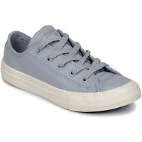 Converse  CHUCK TAYLOR ALL STAR OX  girls's Children's Shoes (Trainers) in Grey