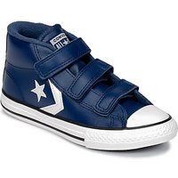 Converse  STAR PLAYER 3V MID  boys's Children's Shoes (High-top Trainers) in Blue