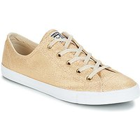 Converse All Star Dainty Ox Shoes (trainers) In Gold