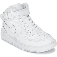 Nike  AIR FORCE 1 MID CADET  boys's Children's Shoes (High-top Trainers) in White