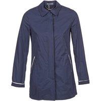 La City  FELICIANA  womens Trench Coat in Blue