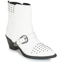 Geox  D LOVAI  women's Low Ankle Boots in White