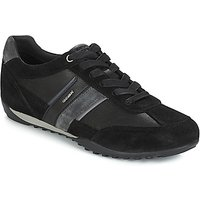 Geox  U WELLS  men's Shoes (Trainers) in Black