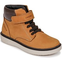 Geox  J RIDDOCK BOY WPF  boys's Children's Shoes (High-top Trainers) in Yellow