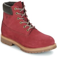 Casual Attitude  JORD  women's Mid Boots in Red