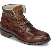 Casual Attitude  JOPA  men's Mid Boots in Brown
