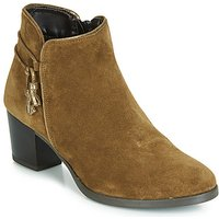 André  MISTINGUETTE  women's Mid Boots in Green