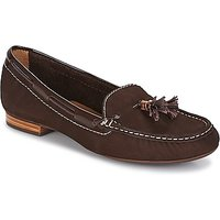 André  DANY  women's Loafers / Casual Shoes in Brown