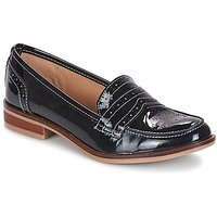 André  BRADFORD  women's Loafers / Casual Shoes in Blue