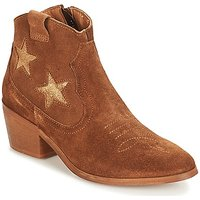 André  CELESTE  women's Mid Boots in Brown