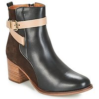 André  NATANAEL  women's Low Ankle Boots in Black