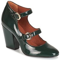 André  ANTONELLA  women's Court Shoes in Green