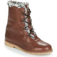 André  CHAMONIX  women's Mid Boots in Brown