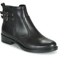 André  CARLIN  women's Mid Boots in Black