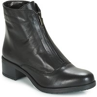 André  TAX  women's Low Ankle Boots in Black
