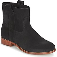 André  TITAINE  women's Mid Boots in Black