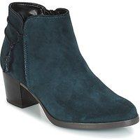 André  MISTINGUETTE  women's Low Ankle Boots in Blue