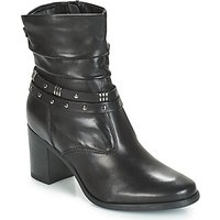 André  TOCSIN  women's Mid Boots in Black