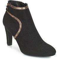 André  AUREL  women's Low Ankle Boots in Black