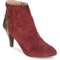 André  FICUS  women's Mid Boots in Red