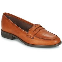 André  TILDE  women's Loafers / Casual Shoes in Brown