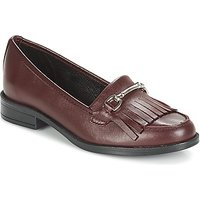 André  TYRI  women's Loafers / Casual Shoes in Red