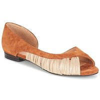 André  PIPA  women's Sandals in Brown