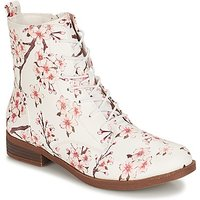 André  PILAT  women's Mid Boots in White