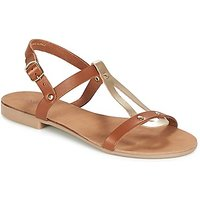 André  TOUFOU  women's Sandals in Brown