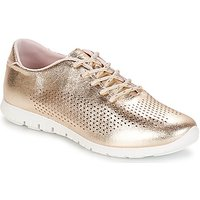 André  AIKIDO  women's Shoes (Trainers) in Gold