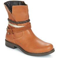 Citrouille et Compagnie  FURAMO  girls's Children's Mid Boots in Brown