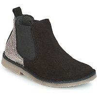 Citrouille et Compagnie  FIGOULI  girls's Children's Mid Boots in Black