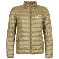 Emporio Armani EA7  TRAIN CORE ID M DOWN LIGHT  men's Jacket in Brown