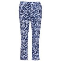 See U Soon  CLARA  women's Trousers in Blue