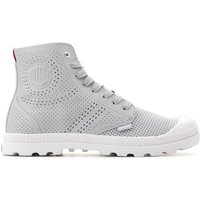 Palladium  Mid LP Perf 95756-073-M  women's Shoes (High-top Trainers) in Grey