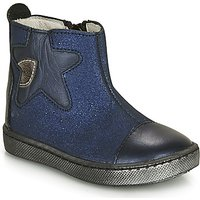 GBB  LIAT  girls's Children's Mid Boots in Blue