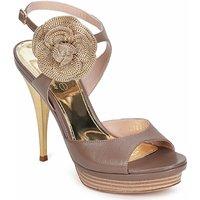 Fericelli  MINKA  women's Sandals in Brown