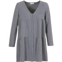 Betty London  JOGURET  women's Dress in Grey
