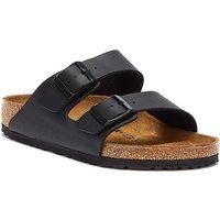 Birkenstock  Arizona Birko-Flor Black Sandals  men's Mules / Casual Shoes in Black