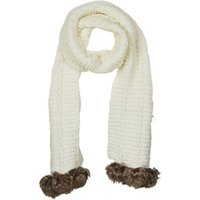 André  POLAIRE  women's Scarf in White