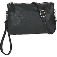 André  LE KANGOUROU  womens Messenger bag in Black