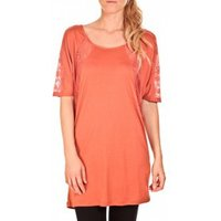 Vero Moda  Top Bess long Orange  womens Tunic dress in Orange