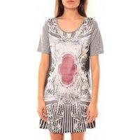 Coquelicot  Robe Tunique CQTW14212 Gris  womens Tunic dress in Grey