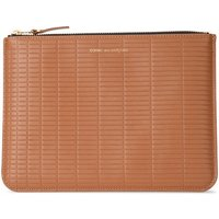 Comme Des Garcons  Brick Line leather purse  womens Purse wallet in Brown