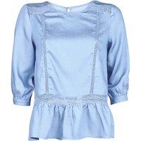Betty London  KOCLE  women's Blouse in Blue