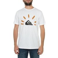 Quiksilver  Baseline KTMJE9051  men's T shirt in White
