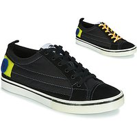 Diesel  D-VELOWS LOW PATCH  men's Shoes (Trainers) in Black