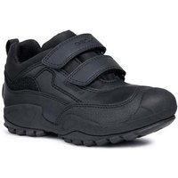 Geox  New Savage Boys Junior Waterproof Rip Tape School Shoes  boys's Children's Shoes (Trainers) in Black